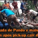 Deputada de Pando e mais cinco morrem