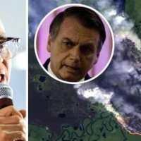 Marina Silva diz que Bolsonaro promove holocausto da Amazônia e ameaça civilização