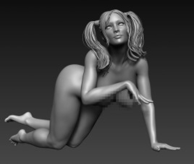 Sexy Posed Woman 11 3d Model