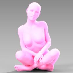 Sitting Pose 001