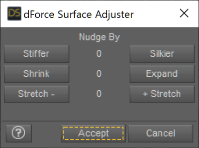 dForce Surface Adjuster