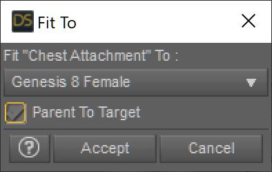 Fir to でフィギア Genesis 8 Female を選択