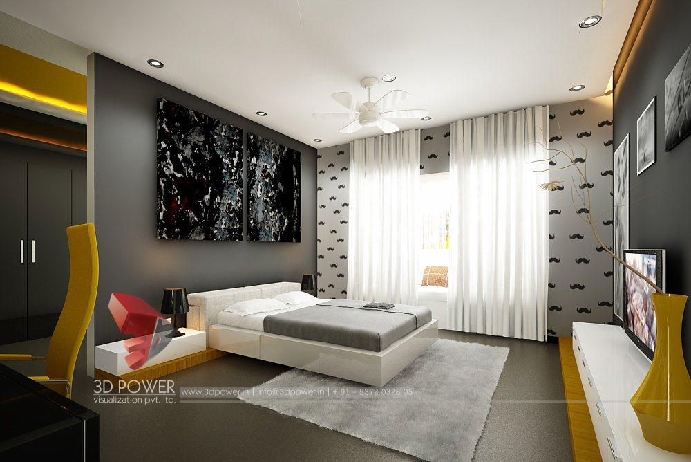 Interior 3d Rendering Of Apartment