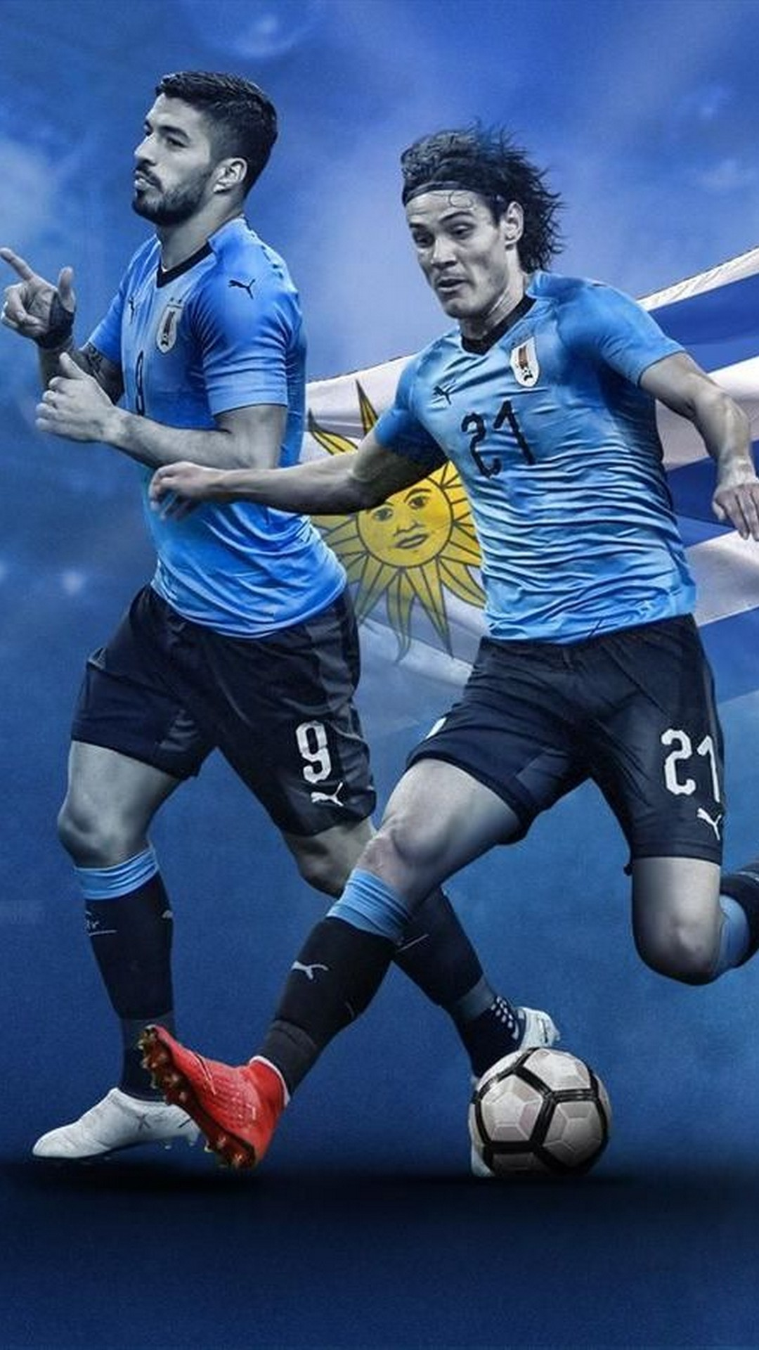 Euro 2021, france national team, bundesliga players in squad (10 pictures). Iphone Wallpaper Uruguay National Team 2021 3d Iphone Wallpaper
