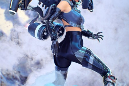 Jet Pack «Hyoga» for Genesis 8 Female