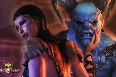 Hallandora (Mistress of Demons)