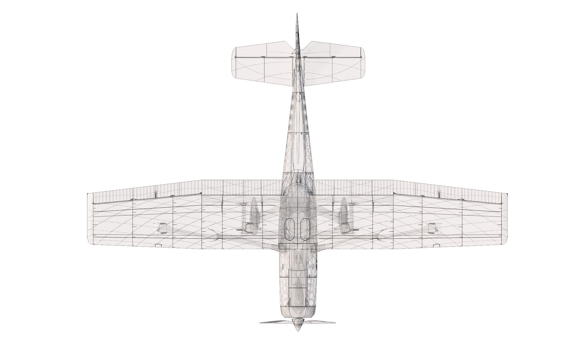 Cessna 152 Based Trainer Sport Plane 3dlabprint