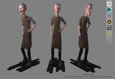 The Puppet Master - Rendered