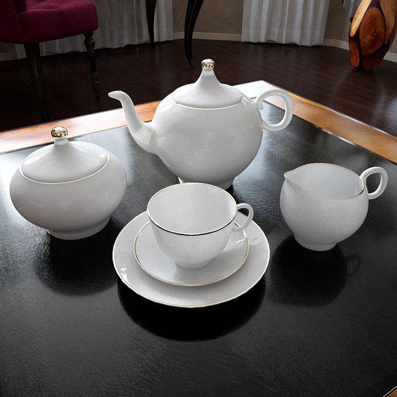 Milky Tea 3D Models 3D Model DownloadFree 3D Models Download
