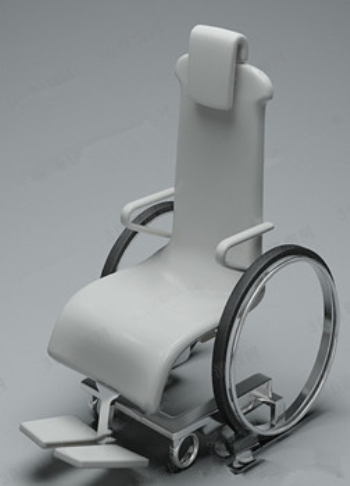 3d Model Of The New Wheelchair 3D Model DownloadFree 3D