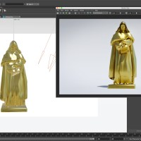 How to Create Gold Metal Shader Using ARNOLD in Maya 2018 HDRI Lighting
