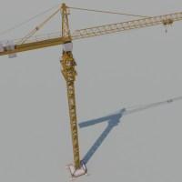 Crane Tower 3D Model