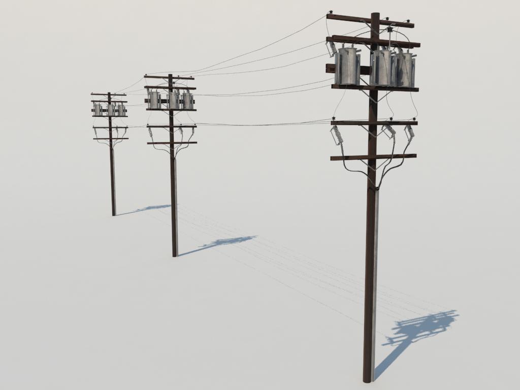 Power Pole Toy Model