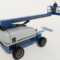 Boom Lift 3D Model - Realtime