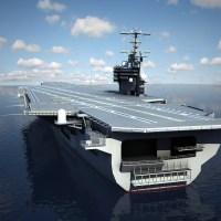 CVN 77 Aircraft Carrier USS George H.W Bush 3D Model