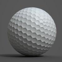 Golf Ball PBR 3D Model