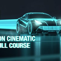 Tron Style Cinematic Rendering And Animation In Maya - Arnold - Course