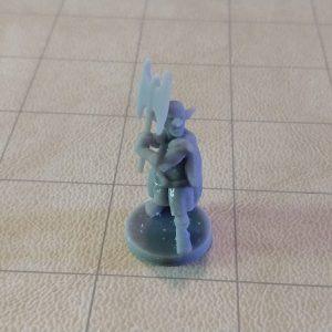 Adventurers/NPCs Deep Gnome Axe Barbarian