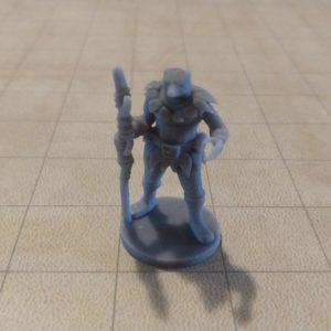 Adventurers/NPCs Bearkin Druid with Leaf Armor