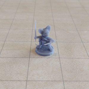 Adventurers/NPCs Mousefolk Fighter