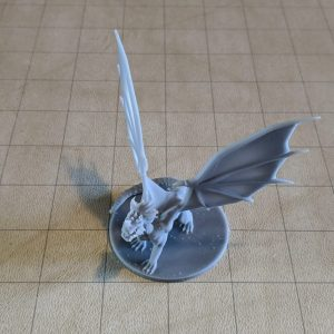Miniatures Young Blue Dragon