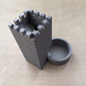 Accessories RPG Magnetic Dice Tower