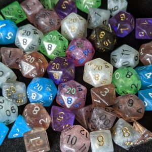 Custom Custom Mini Polyhedral Dice Set