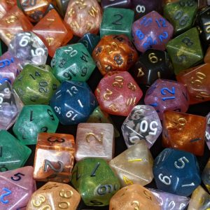 Custom Custom Polyhedral Dice Set