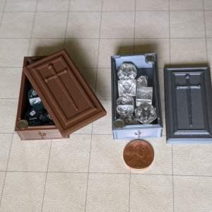 Dice Cases Coffin Mini Dice Case