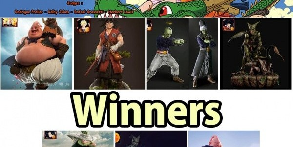 DBZ Contest Winners