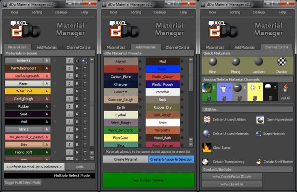 dDo Material Manager v2