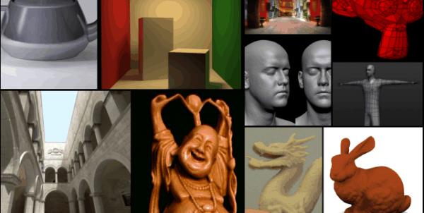3D Test Models