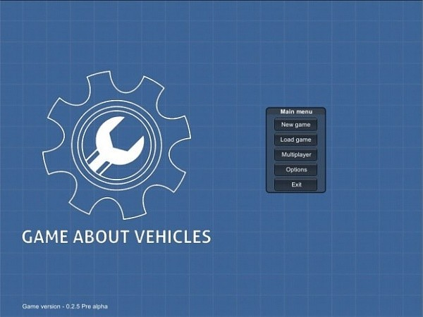 Game about Vehicles Pre Alpha v0.2.5