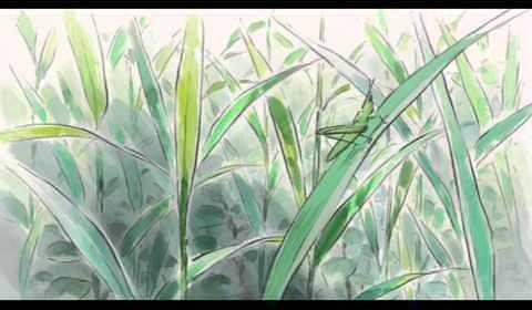 ジブリ かぐや姫の物語 プロローグ 〜序章〜