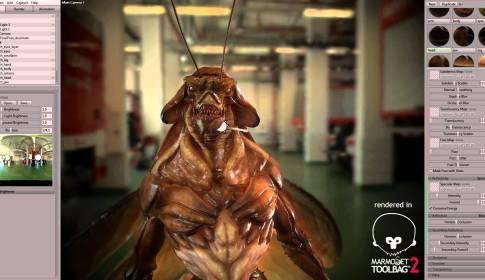 Edgar the bug - Marmoset Toolbag 2