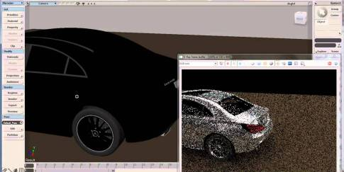 V-Ray RT for Softimage R&D Demo
