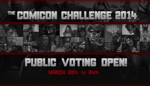 Comicon Challenge 2014 Public Voting Open
