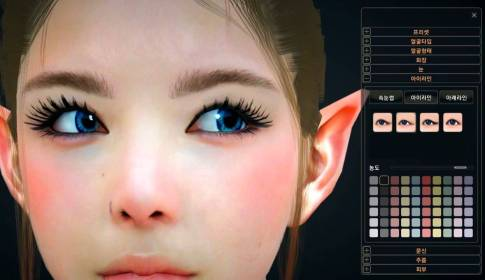 Black Desert CBT 2 Character Customize