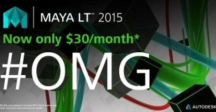 MAYA LT 2015 Now Only $30Month