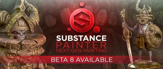 Substance Painter Beta 8