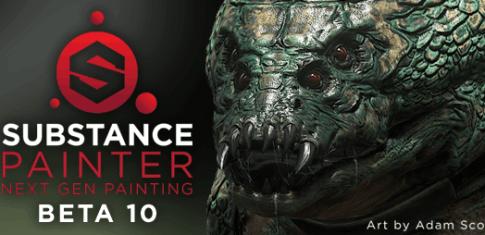 Substance Painter Beta 10