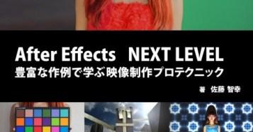 After Effects NEXT LEVEL 豊富な作例で学ぶ映像制作プロテクニック