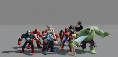 Disney Infinity Combat Animation
