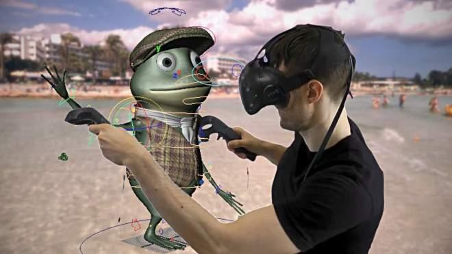 MARUI v1.4.6 - Oculus RiftやHTC Viveに対応!VR空間上でMaya作業が可能なプラグイン!