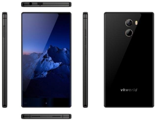 vkworld VKworld пообещала сделать смартфонMix+ самым доступным среди «безрамочных» гаджетов
