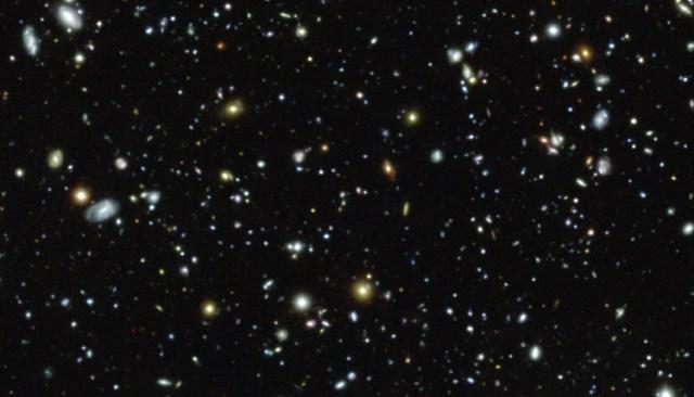 eso1 Выполнен самый глубокий спектроскопический обзор в истории астрономии