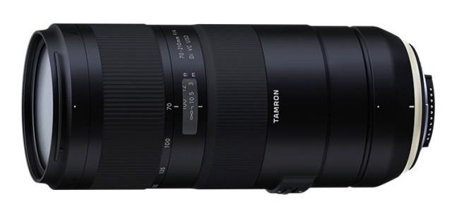 tamron1 Объектив Tamron 70-210mm F/4 Di VC USD рассчитан на полнокадровые DSLR-камеры