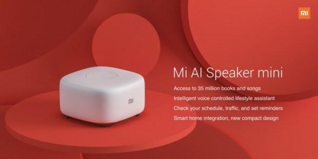 Анонс Xiaomi Mi AI Speaker mini – «умная» колонка с отличным качеством звучания