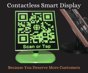 contactless smart display