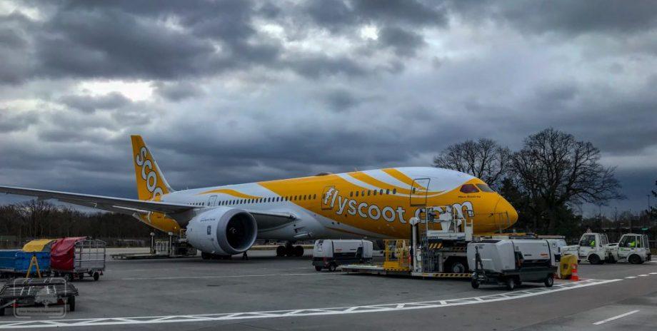 Samolot lini Scoot